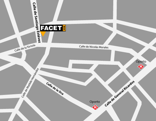 Mapa Facetbox