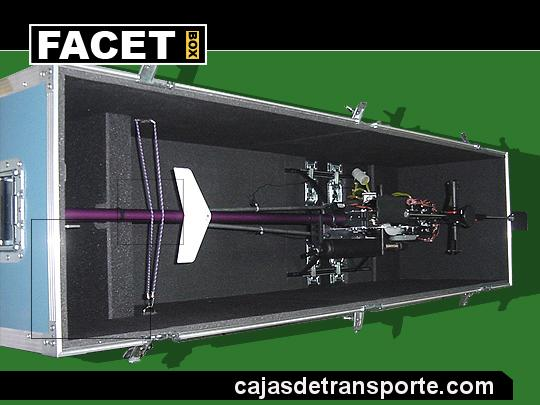Cajas de transporte a medida para aeromodelismo