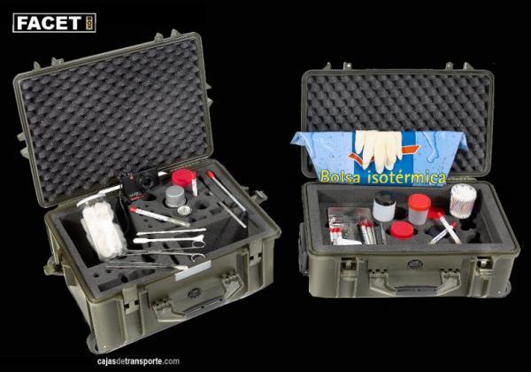 Cajas a medida para instrumental médico