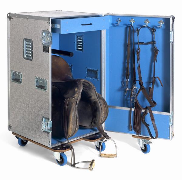 Ejemplo de guadarnés portátil de los muebles para hípica de Cajas de Transporte