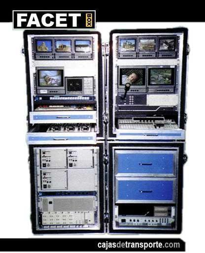 Armarios de transporte para audiovisuales de Cajas de Transporte