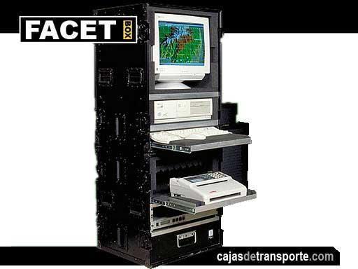 Armarios de transporte para ordenadores