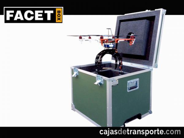 Baúles para drones