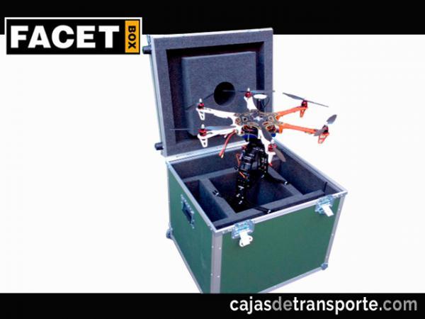Cajas de transporte para drones