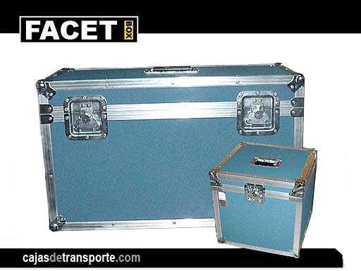 Cajas de transporte reforzadas con metal
