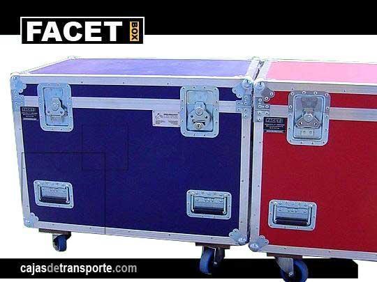 Cajas de Transporte con ruedas