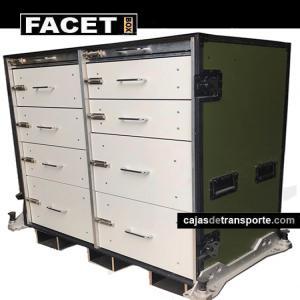 Imagen caja aerotransportable Grupo Facet Box