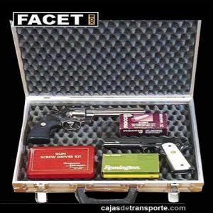 Caja de transporte para pistola