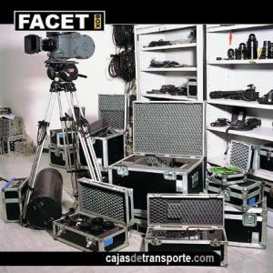 Cajas de transporte para equipos de cine